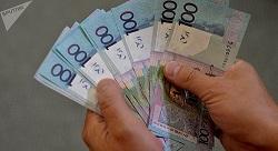 Miesięczne zarobki wynoszą 802 ruble