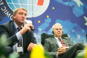 O reformach gospodarczych na Forum Europa -Ukraina