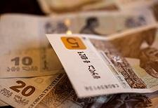 Gruzińska waluta zyskała na wartości
