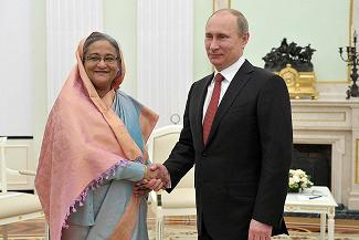 Rosja pożyczy Bangladeszowi 1,5 miliarda dolarów